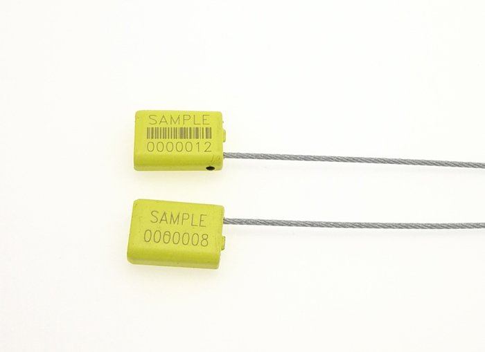 Metal Cable Security Logistics Seal for Food And Beverage C-161